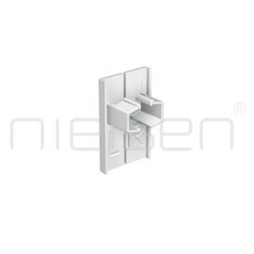 koncový kryt INFO RAIL - bílý