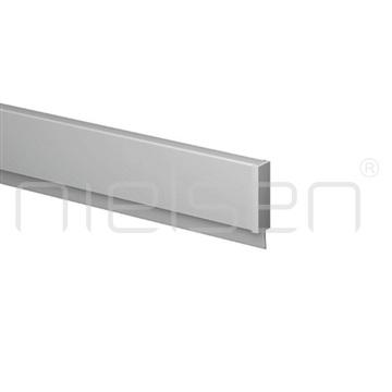 Kompletní set Info Rail profil 100 cm - stříbrná