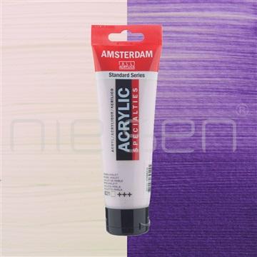 AMSTERDAM akryl Pearl violet 120 ml