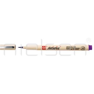 štětečkový marker PIGMA BRUSH fialový