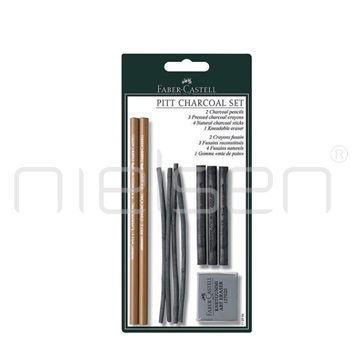 Set PITT CHARCOAL v blistru