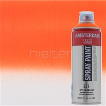 AMSTERDAM spray reflx orange 400ml